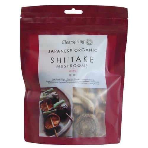 Clearspring Organic Shiitake Mushrooms 40g