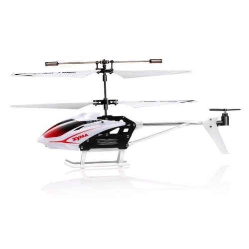Syma S5 Gyroscope Speed 3 Channel Remote Control Infrared Helicopter - White