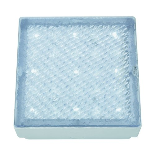 Led Recessed Clear 8cm Square Walkover White Led IP68