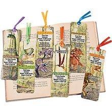 Pack of 12 - Dinosaur Bookmarks