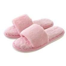 Fashion Ladies Winter Warm & Cozy  Indoor Shoes Skidproof House Slipper, Pink