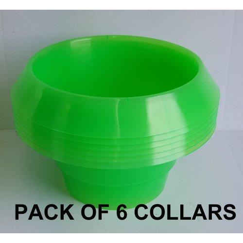 Slug Collars / Hosta Halos x6