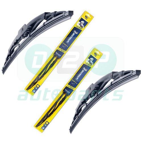 "Michelin Rainforce Traditional Wiper Blades 18""/26"" for Citroen C5 2001-2004"