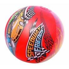 Speedway Friends Beach Ball - Bestway Pool Red -  bestway speedway ball friends beach pool red