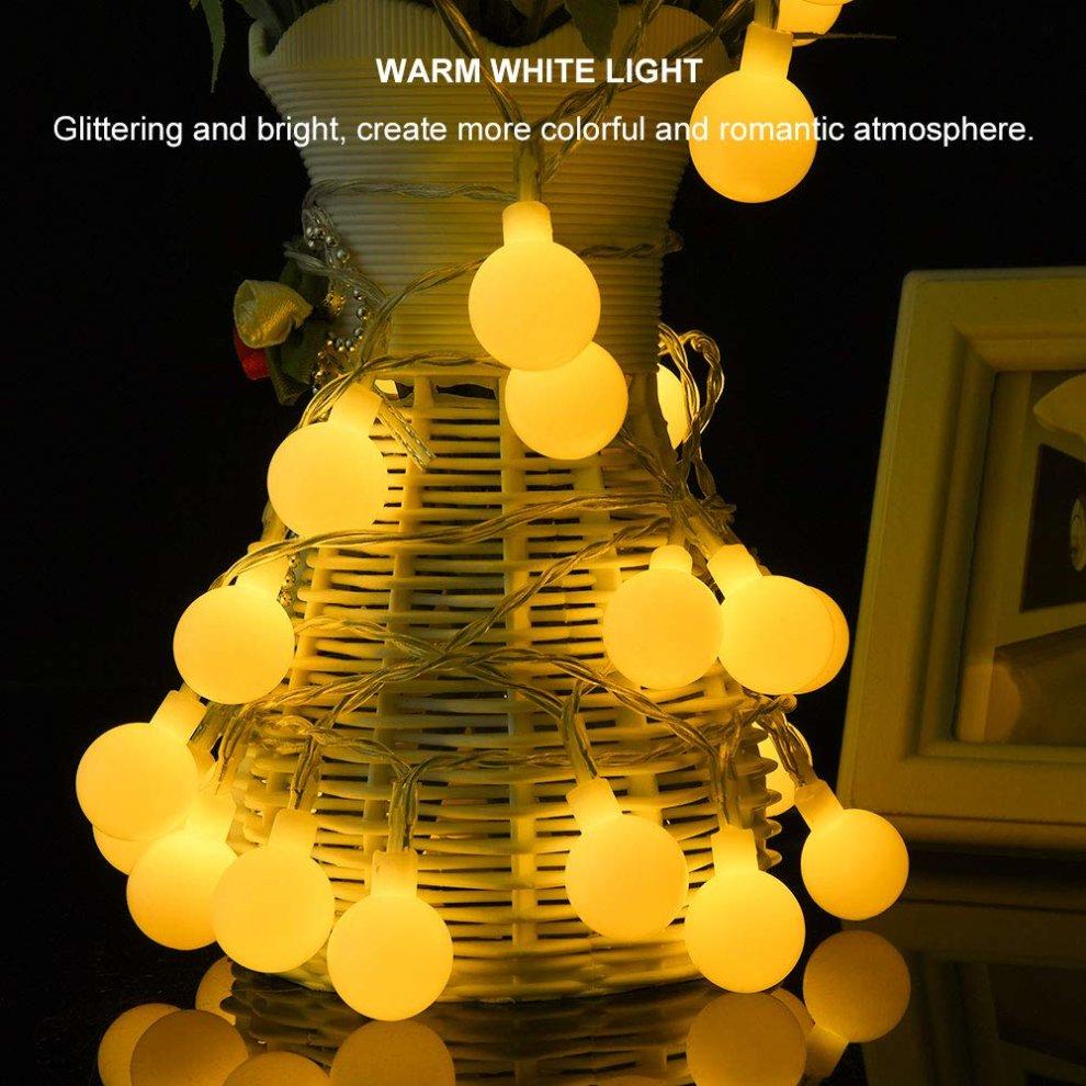 Lights & Lighting 3.6m 12 Led Heart Moroccan Fairy Solar String Lantern Light Lamp Garden Sophisticated Technologies Led String