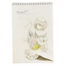 [Large Size] Practical Spiral Binding Artist Sketchbook Painting Book #06
