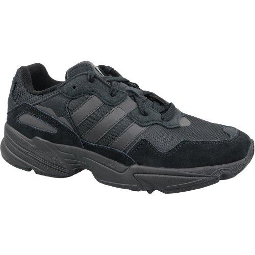 adidas Yung-96 F35019 Mens Black sneakers
