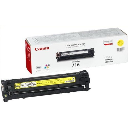 Canon 716 Y Cartridge 1500pages Yellow