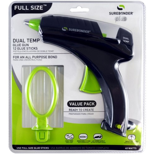 Dual-Temp Full Size Glue Gun Kit-Full Size