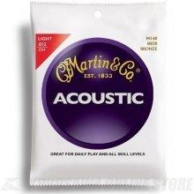 Martin 80/20 Bronze Acoustic Guitar Strings - Light