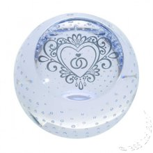 Wedding Day Gifts ~ Celebration Paperweight by Caithness Glass