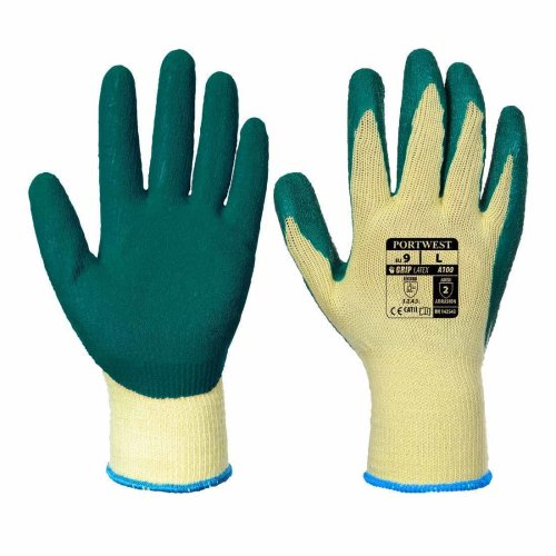sUw - Latex Palm Dipped Gripper Gloves (1 Pair Pack)