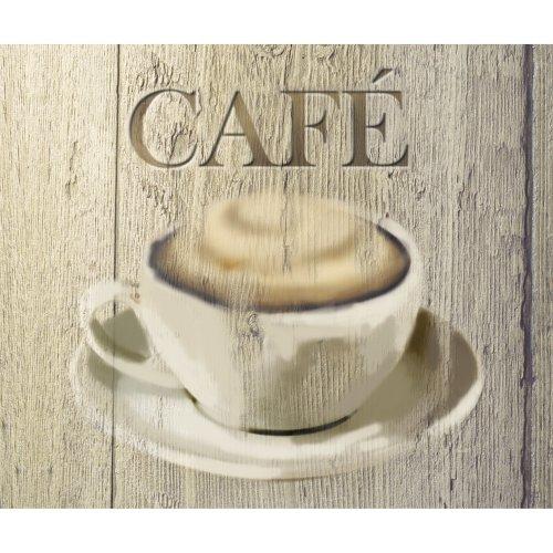 Wenko 2713600100 Tempered Glass Splash Guard Coffee Cup Design 60x 50cm