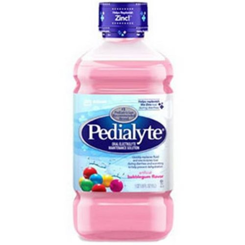 Abbott Nutrition 5251752 1 litre Pedialyte Ready to Feed Bottle, Bubble Gum