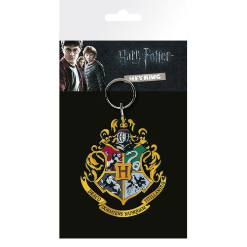 Harry Potter Hogwarts Crest Keyring