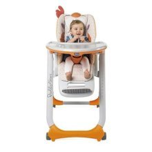 Chicco Polly 2 Start Highchair 4 Wheels (Fancy Chicken)