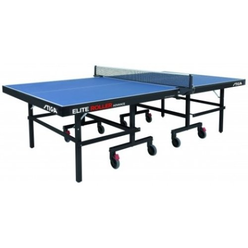 Stiga Table Tennis Table Elite Roller CSS Advance Blue with a 22mm Top