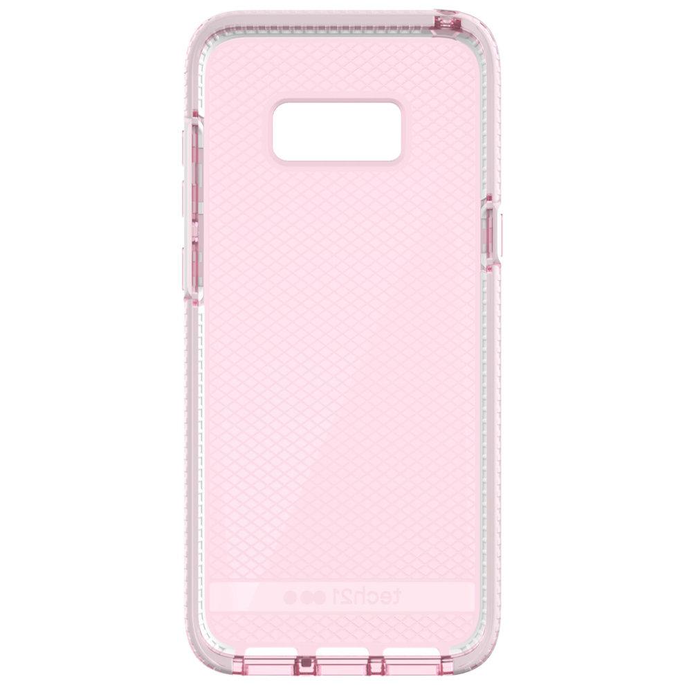 new concept 59efd 75c0d Tech21 Evo Check Flexshock Case Cover For Samsung Galaxy S8 Plus  G955F-Pink/White