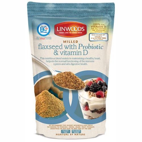 Linwoods Flaxseed Probiotic & Vitamin D 360g