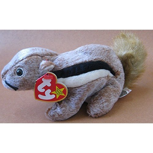 4cb64b22332 TY Beanie Babies Chipper the Chipmunk Plush Toy Stuffed Animal on OnBuy