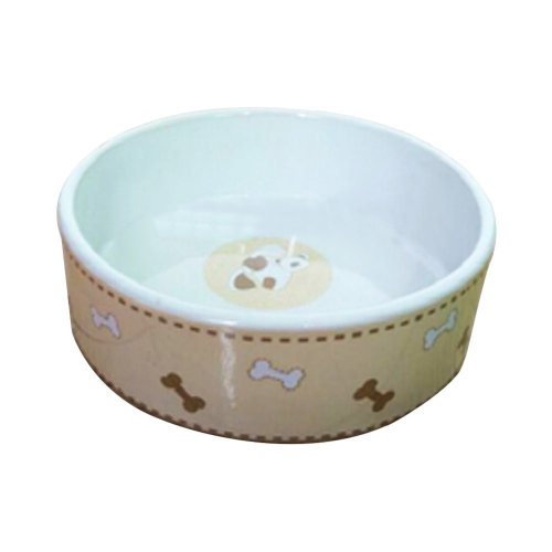 Porcelain Pets Puppy Food Water Bowls Dogs Bowls Cats Pet Supplies - Bone