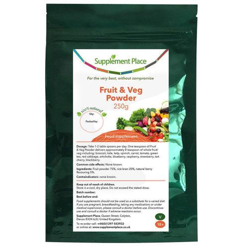 Fruit & Vegetable Powder 250g