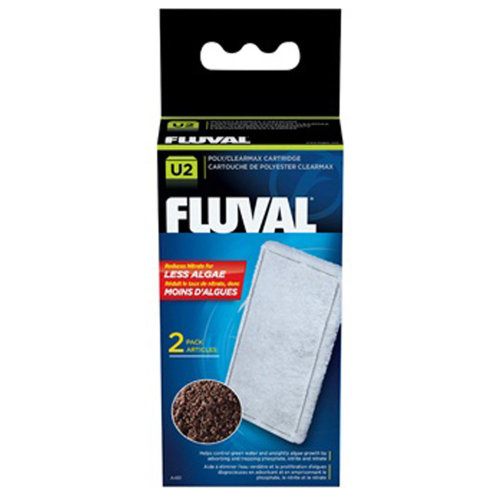 Fluval U2 Poly/Clearmax Cartridge (2 Pack)