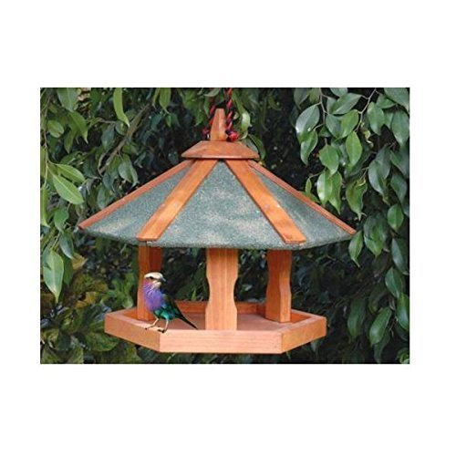 Cheeko Hanging Bird Table, 18 x 16-Inch