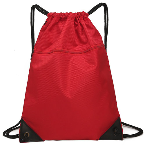 Drawstring Bag Unisex Gym Bag Sport Rucksack Shoulder Bag Hiking Backpack #2