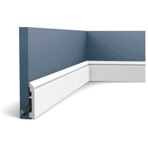 Orac Decor SX173 AXXENT CONTOUR Skirting decorative moulding baseboard 2 m