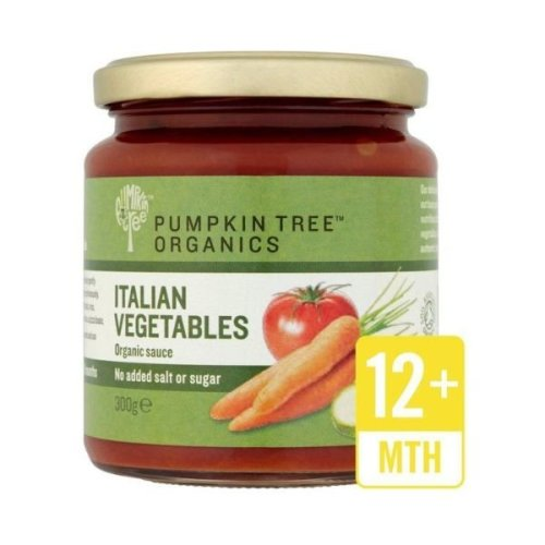 Pumpkin Tree Italian Vegetable Pasta Sauce | 300g x 6
