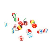 Creative Stationery Flag Pins Colorful Decoration