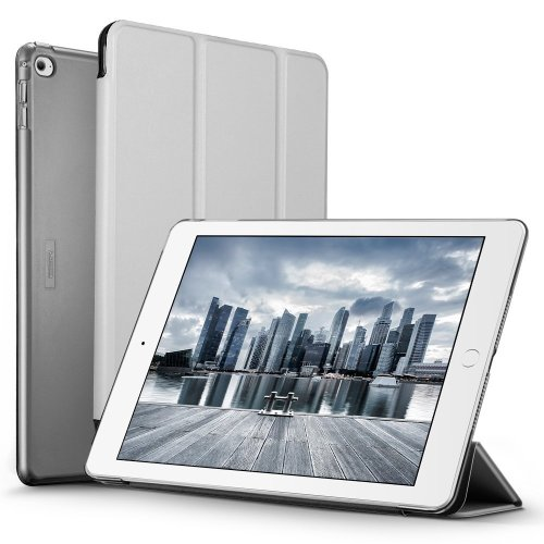 iPad Air 2 Case, ESR® iPad Air 2 Smart Case Cover (Silver Grey)