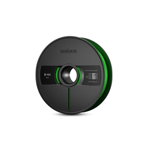 Zotrax 10533 Z-ABS Filament, 1.75 mm, 800 g, Green