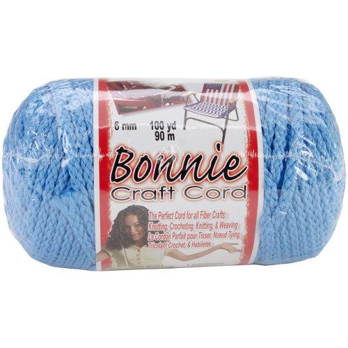Bonnie Macrame Craft Cord 6mmX100yd-Ocean