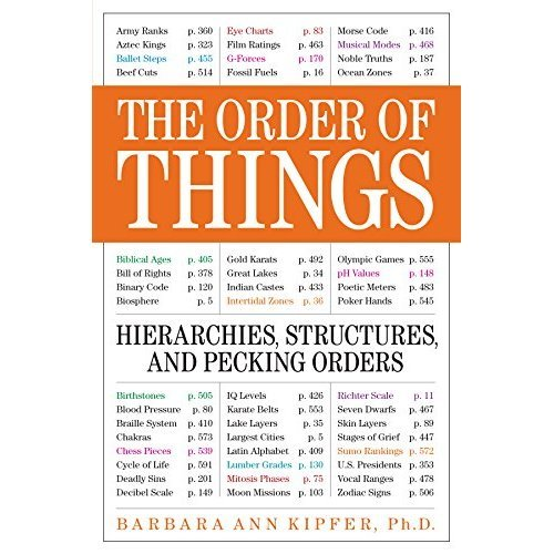 The Order of Things: Hierarchies, Structures & Pecking Orders for the Voraciously Curious