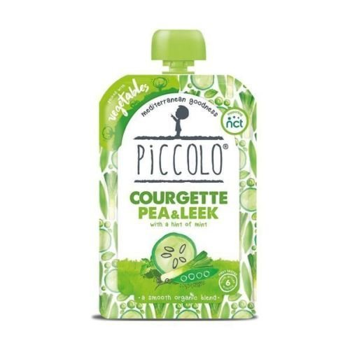 Piccolo Organic Courgette & Pea with Mint | 100g x 7