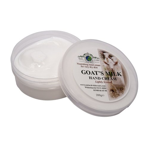 Goat's Milk Nourishing Hand Cream 200g for dry, sensitive skin