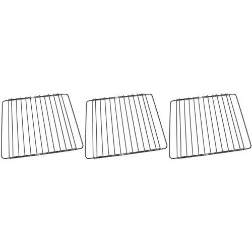3 x Universal Oven Cooker Grill Shelf Grid Rack