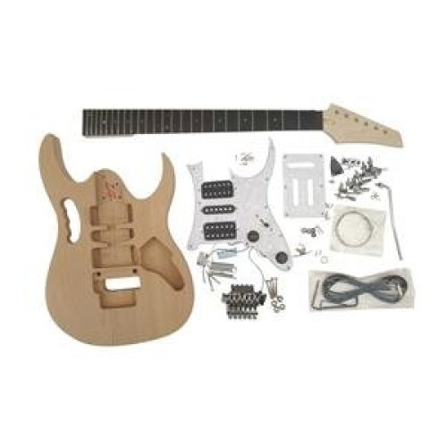 Coban Guitars All Pre-drilled GDGEM4U  2 Part Alder body Body Electric Guitar DIY Kit. Everything you need