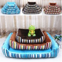 4 Size Choice Washable Resist Dirty and Bit Canvas Pet Pad Cat Dog Puppy Mat Bed