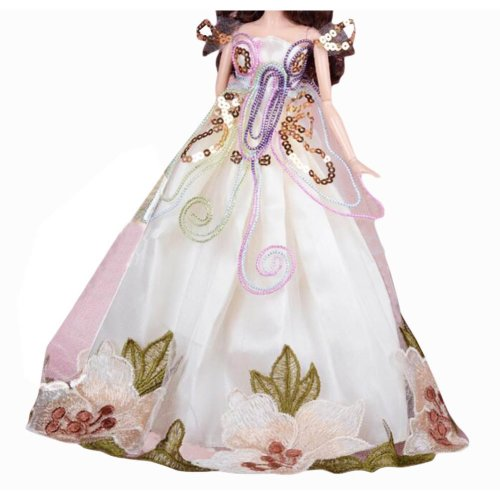 New Decent Beautiful Wedding Dress Skirt For 11.81-inch Doll-07