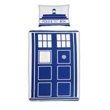 Doctor Who Official Tardis Single Duvet Cover