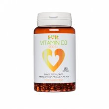 Vitamin D3 1000 IU - 180 softgels - i-vit (soy free)