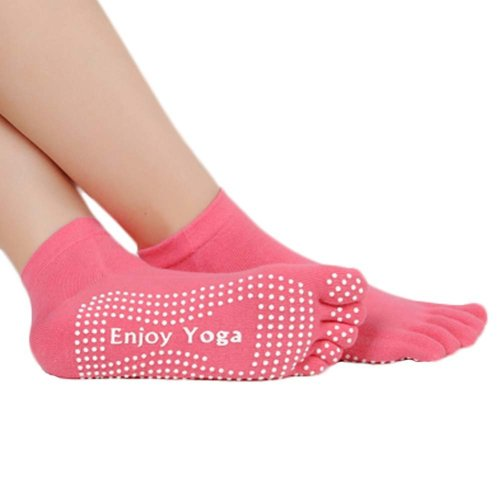 Five-finger Cotton Sports Socks Soft Non-slip New Design Yoga Socks #11