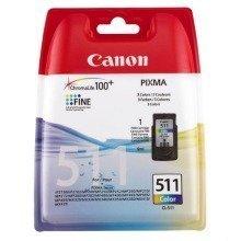 Canon Cl-511 Colour Cyan,magenta,yellow Ink Cartridge