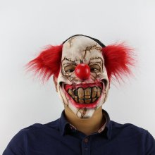 Halloween Scary Clown Latex Mask