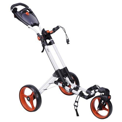 FastFold Trike 360 3 Wheel Push Golf Cart Trolley
