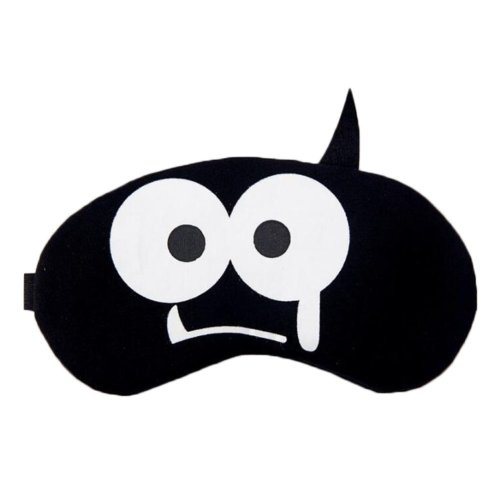 Black Lovely Sleep Mask Sleeping Eye Cover Masks