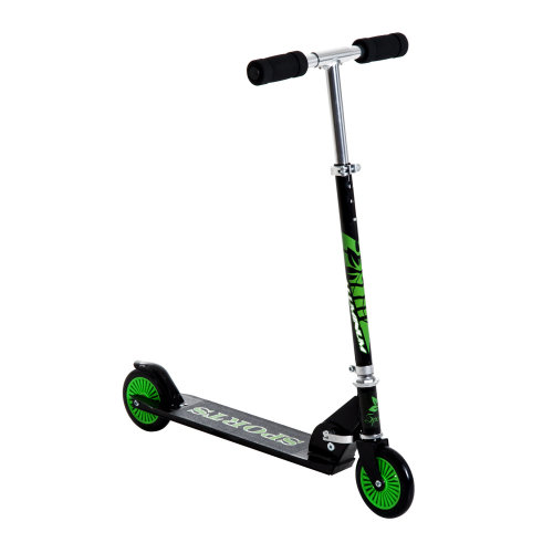 HOMCOM Adjustable Aluminium Kids Scooter-Green